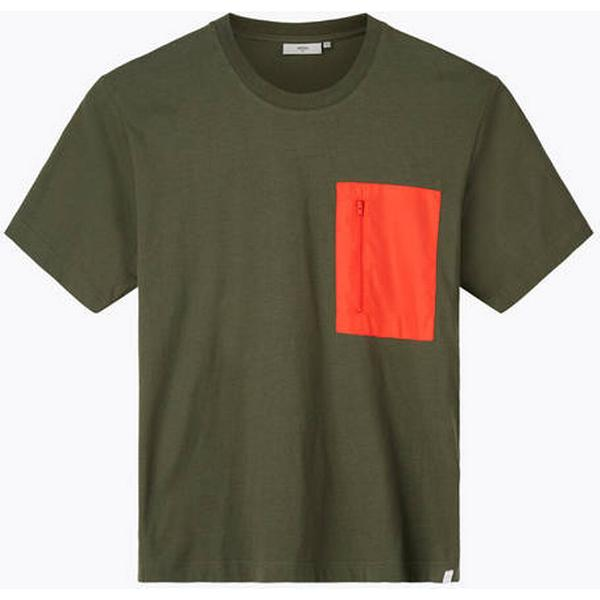 Minimum Asker Short Sleeved T-shirt - Drab