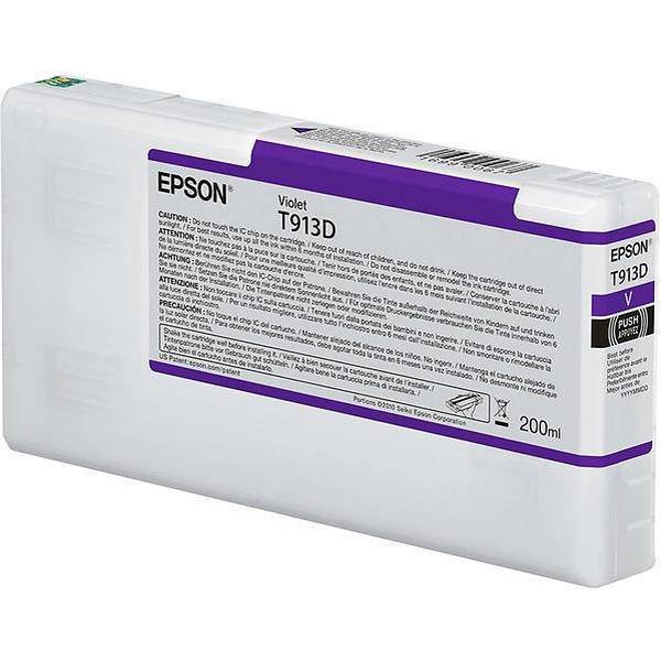 Epson (C13T913D00) Original Ink Purple 200 ml