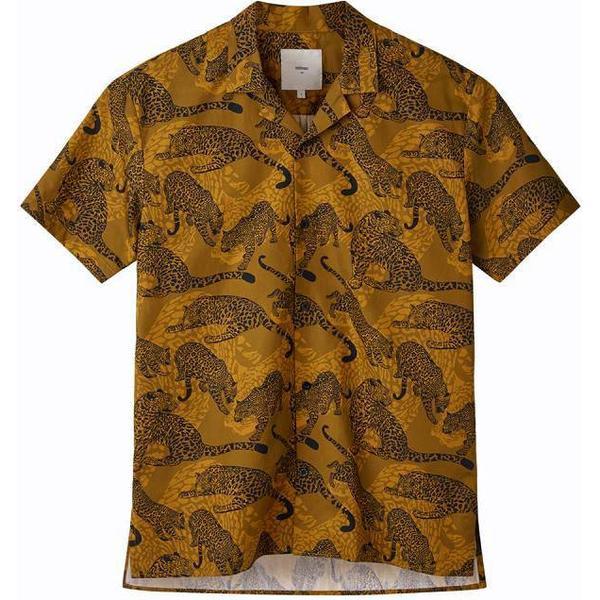 Minimum Emanuel Short Sleeved Shirt - Tobacco Brown