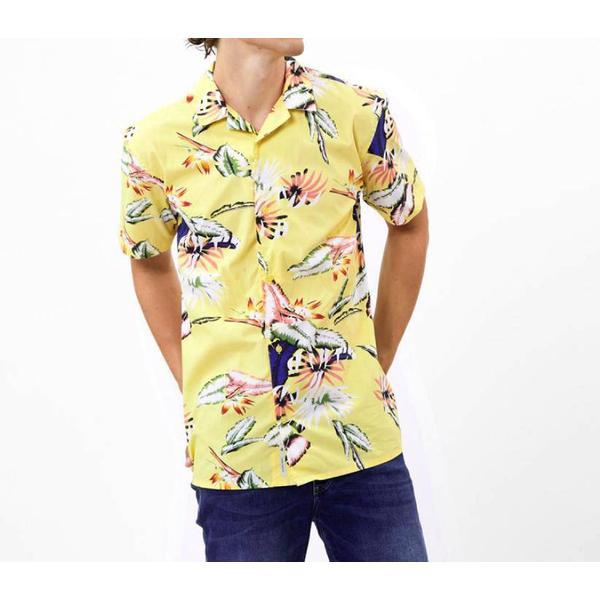 Minimum Emanuel Short Sleeved Shirt - Lemon Drop