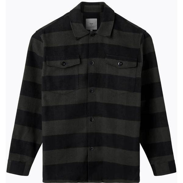 Minimum Fjell Long Sleeved Shirt - Racing Green