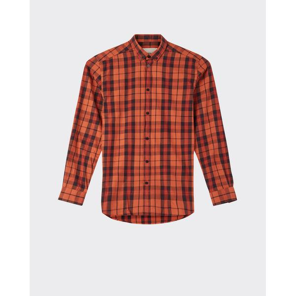 Minimum Walther Long Sleeved Shirt - Picante