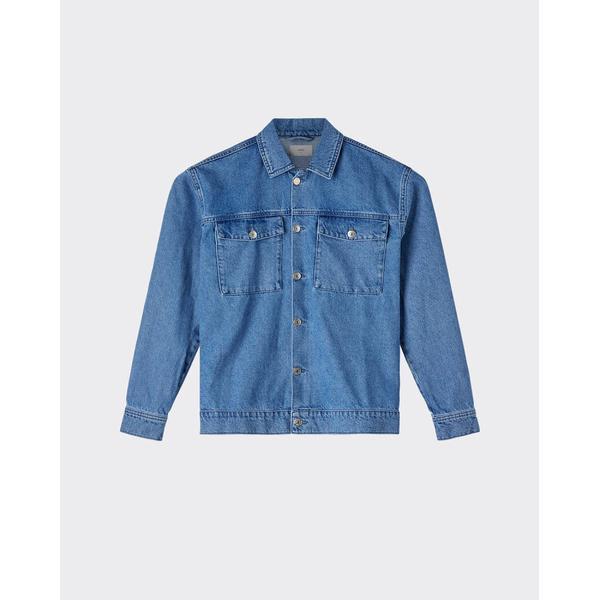 Minimum Trols Denim Jacket - Light Blue