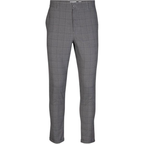 Minimum Ugge 2.0 Dressed Pant - Light Grey Melange
