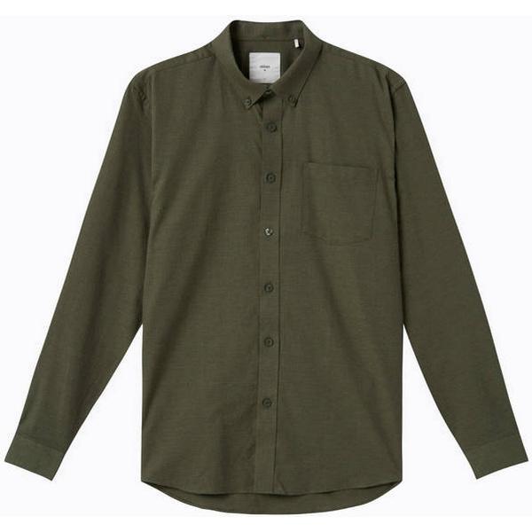 Minimum Jay 2.0 Long Sleeved Shirt - Drab Melange