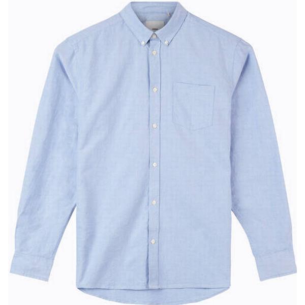 Minimum Jay 2.0 Long Sleeved Shirt - Light Blue