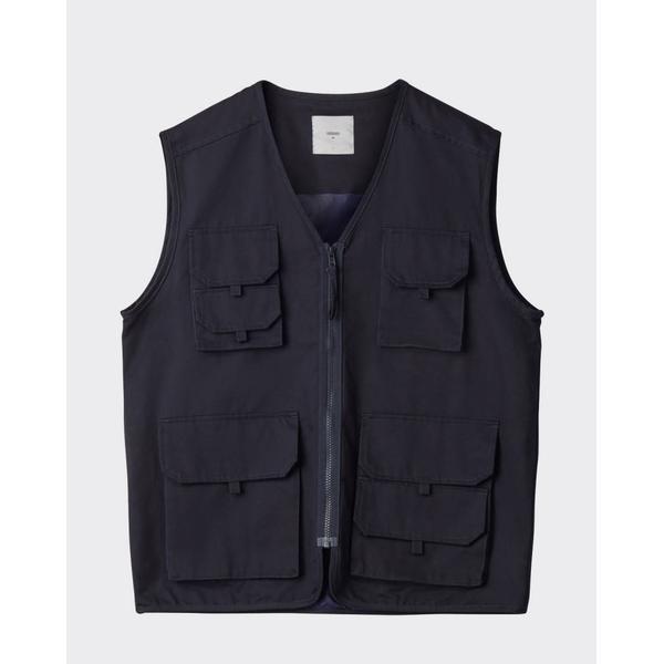 Minimum Krog Waistcoat - Navy Blazer