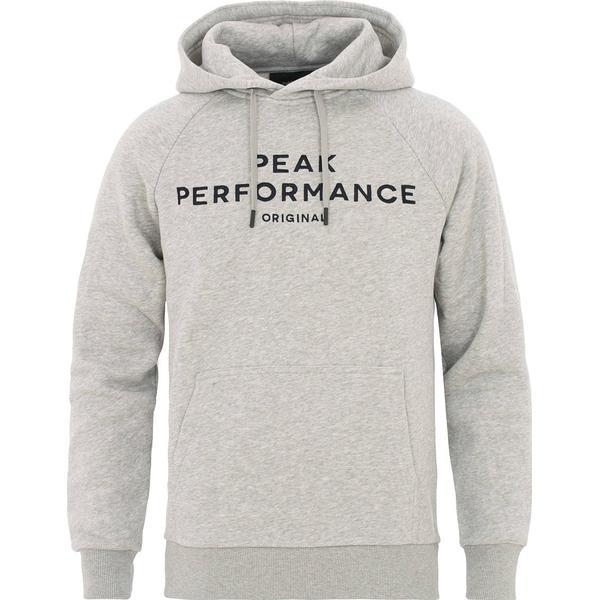 Peak Performance Original Hoodie - With Gray Mel