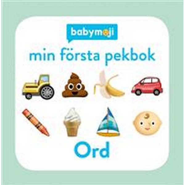 Baby Emoji: Min första pekbok - Ord