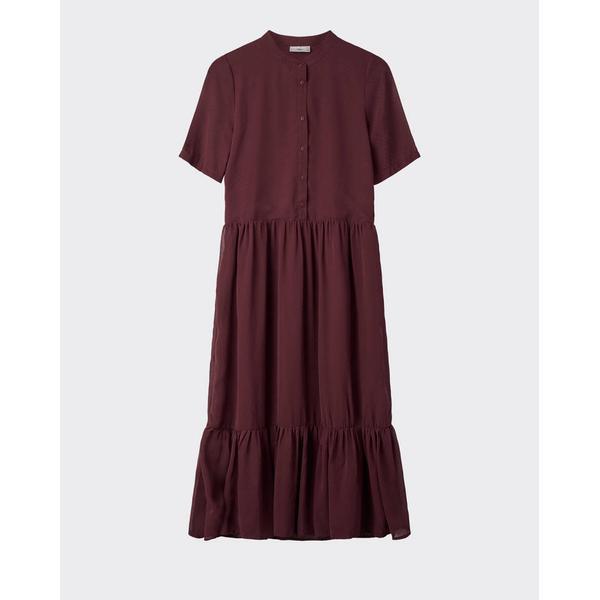 Minimum Margitte Midi Dress Zinfandel
