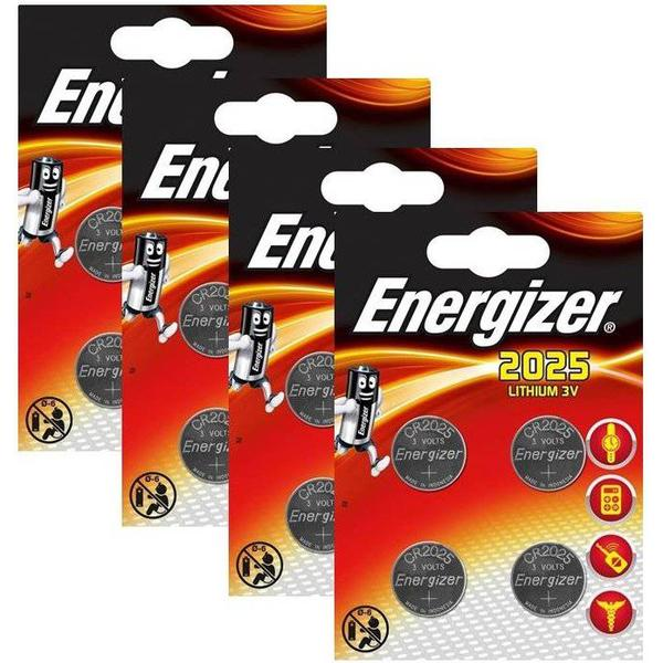Energizer CR2025 Compatible 16-pack