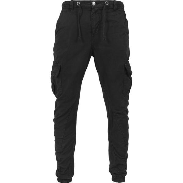 Urban Classics Cargo Jogging Pants - Black