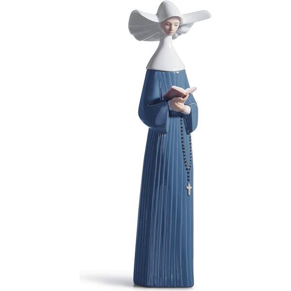 Lladro Prayerful Moment Nun Figur
