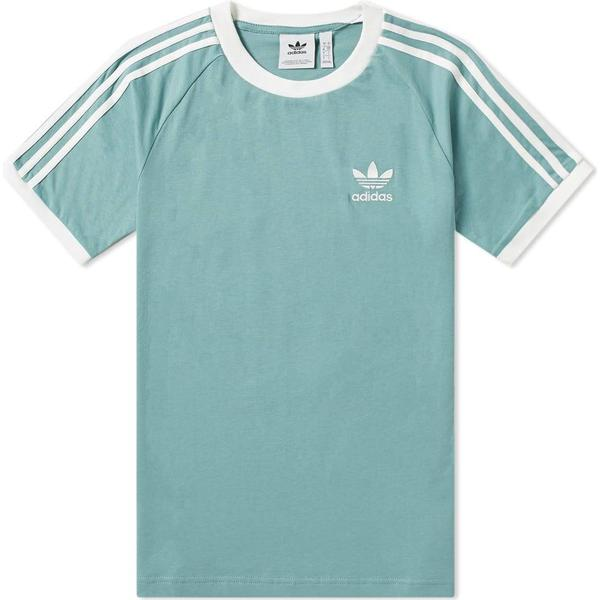 Adidas 3-Stripes T-shirt - Vapour Steel
