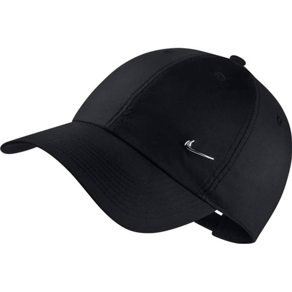 Nike Metal Swoosh H86 Hat - Black/Metallic Silver