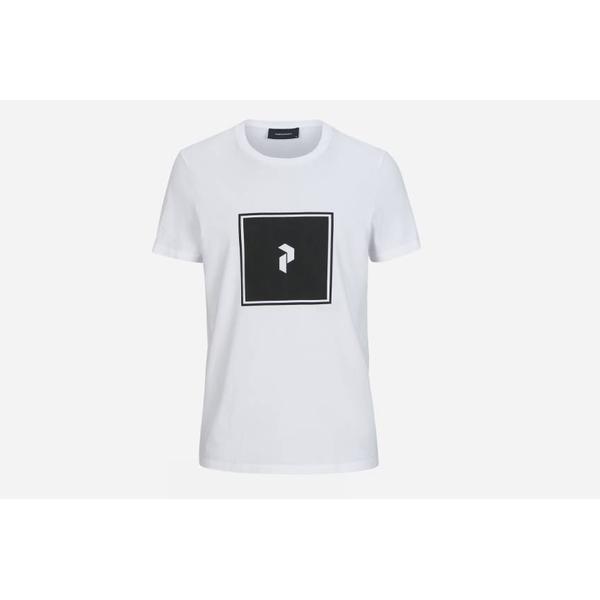 Peak Performance Print T-shirt - White