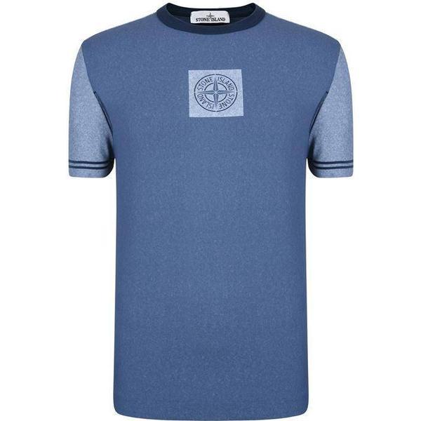 Stone Island Chalk Short Sleeve T-shirt - Blue V0028