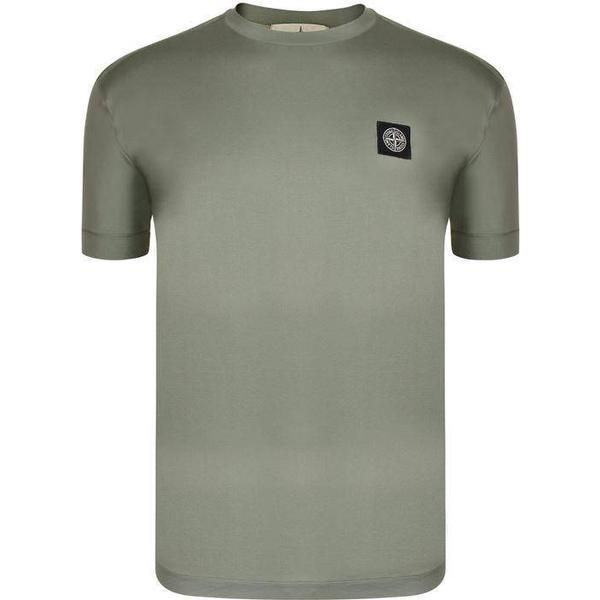 Stone Island Badge Logo T-shirt - Salvia V0055