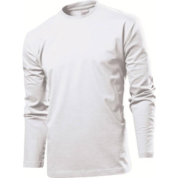 Stedman Comfort Long Sleeves T-shirt - White