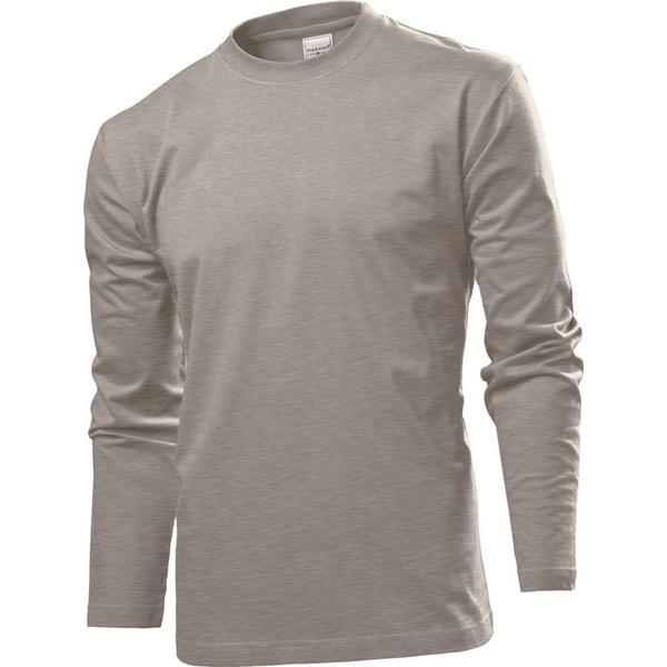 Stedman Comfort Long Sleeves T-shirt - Grey Heather