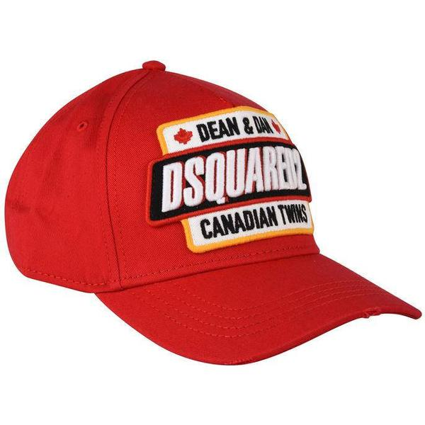 DSquared2 Canadian Twins Baseball Cap - Red