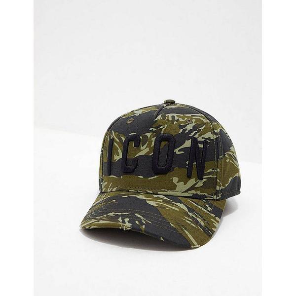 DSquared2 Icon Baseball Cap - Military Green
