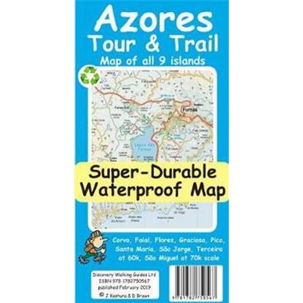 Azores TourTrail Super-Durable Map