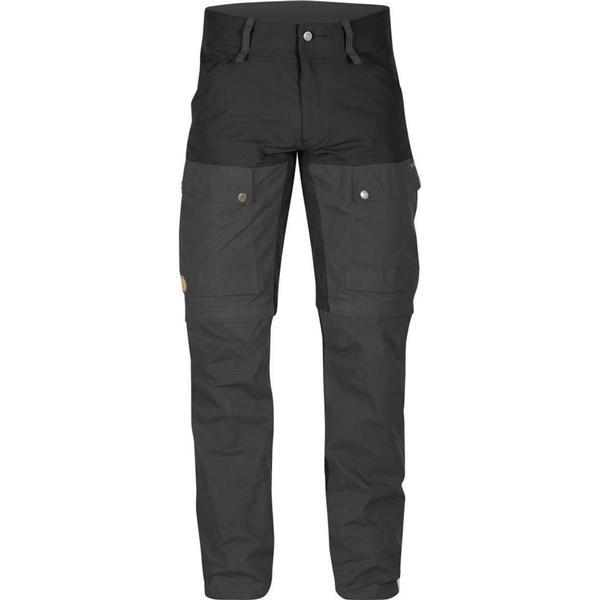 Fjällräven Keb Gaiter Trousers Long Black/Dark Grey