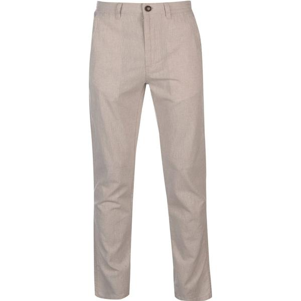 Pierre Cardin Linen Trousers - Light Stone