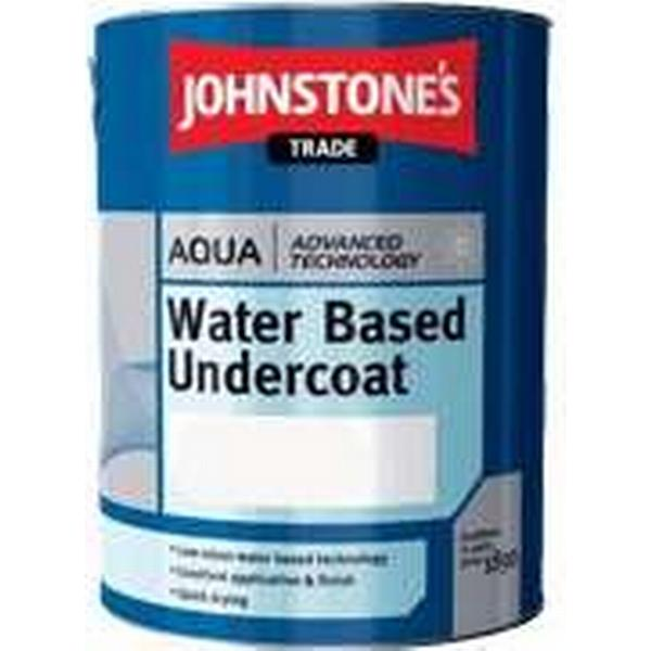 Johnstone's Trade Aqua Water Based Undercoat Wood Paint, Metal Paint Grey 1L