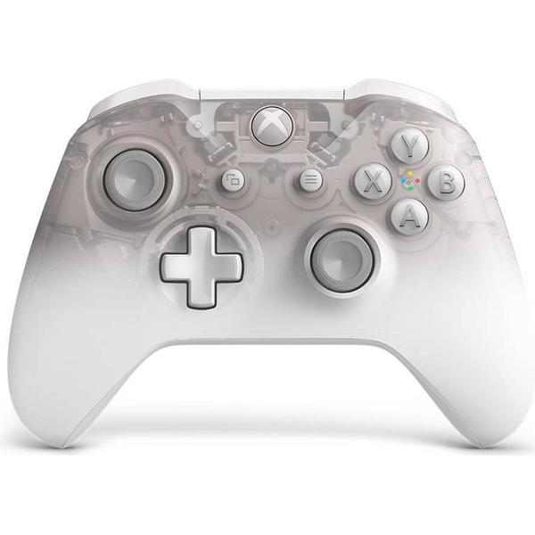 Microsoft Xbox One Wireless Controller - Phantom White Special Edition