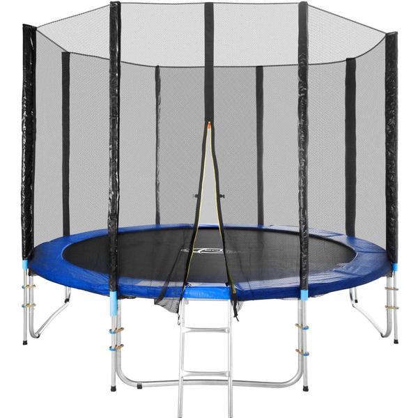 tectake Trampoline 305cm + Safety Net