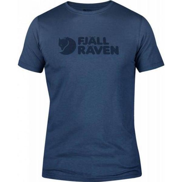 Fjällräven Logo T-shirt - Uncle Blue