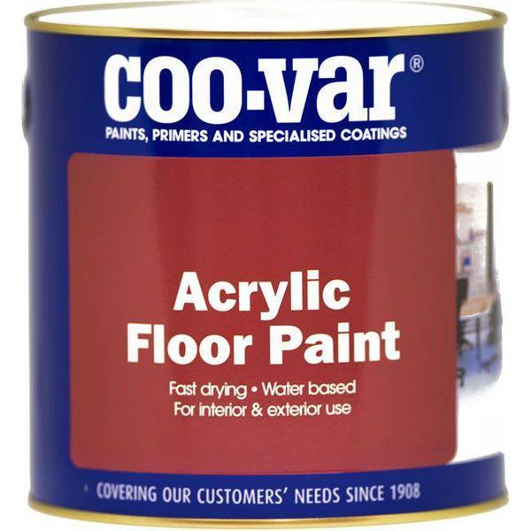 Coo-var Acrylic Floor Paint Black 1L