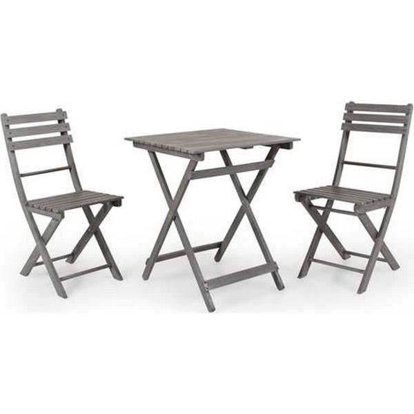 Brafab Bruton Cafésæt, 1 borde inkl. 2 stole