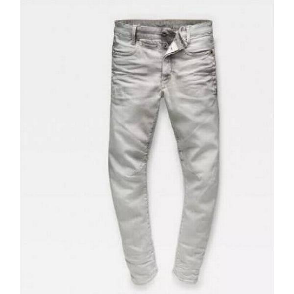 G-Star D-Staq 3D Tapered Jeans - Grey Lt Aged