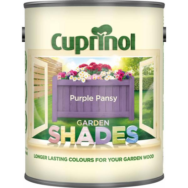 Cuprinol Garden Shades Wood Paint Purple 1L