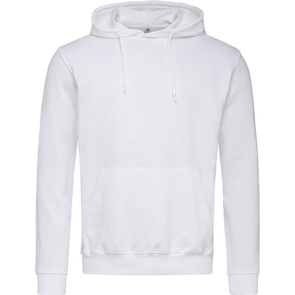 Stedman Hooded Sweatshirt - White