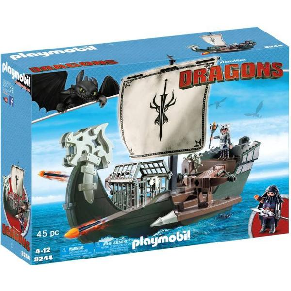 Playmobil Dragos Skib 9244