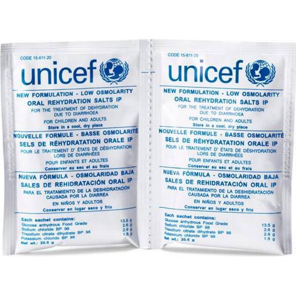 UNICEF Vätskeersättning