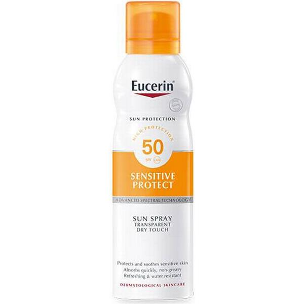 Eucerin Sensitive Protect Sun Spray Transparent Dry Touch SPF50 200ml