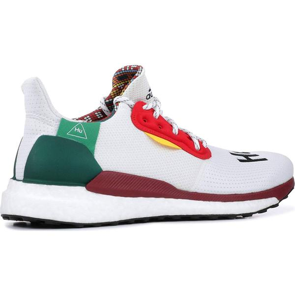 Adidas Pharrell Williams x Solar Hu Glide M Cloud WhiteCore BlackBold Green
