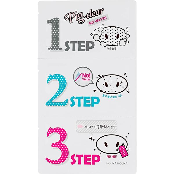 Holika Holika Pig Nose Clear Blackhead 3-Step Kit No Water