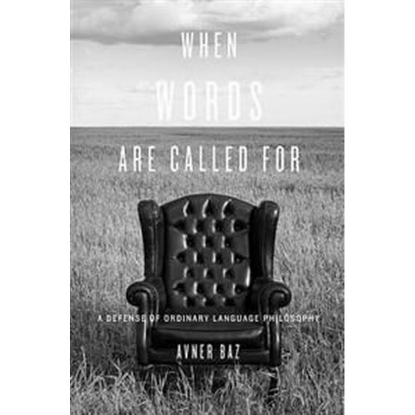 When Words Are Called for
