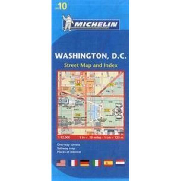 Michelin Washington DC Map 10 (Övrigt format, 2012)