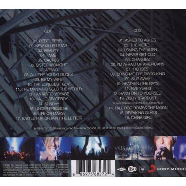 Bowie David - Reality Tour