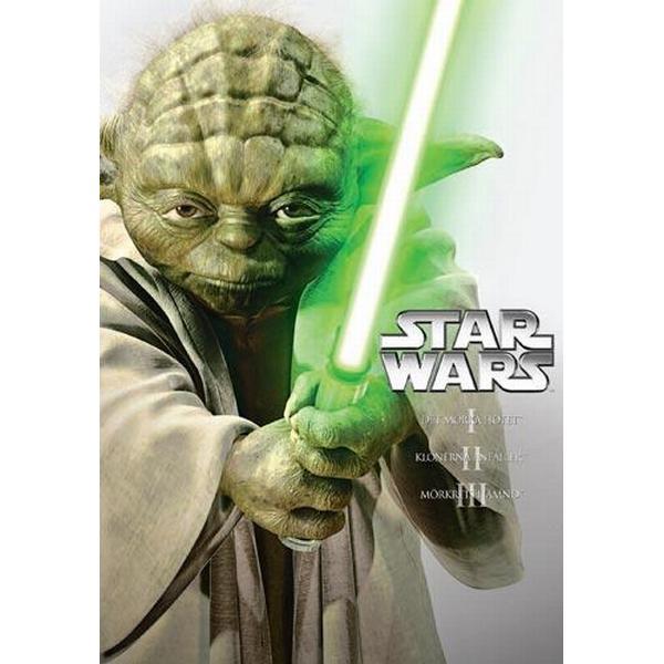 Star Wars: Prequel Trilogy (ep. 1-3) (DVD 2013)