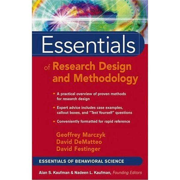 Essentials of Research Design and Methodology (Essentials of Behavioral Science)