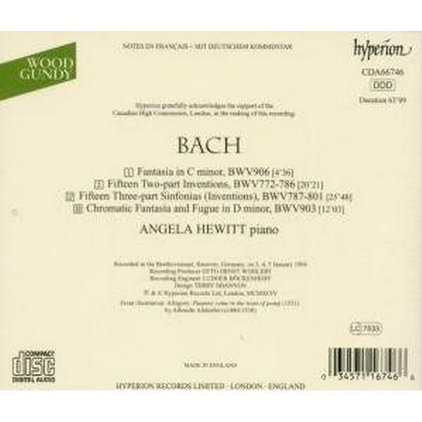 J.S. Bach: Inventions, Suites, WTC, etc./Schiff box ...