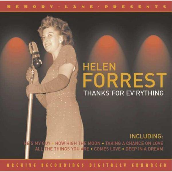 Helen Forrest - Thanks For Everything